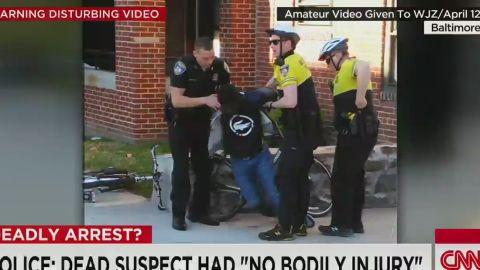 nr freddie gray baltimore officers named arrest video_00014625.jpg