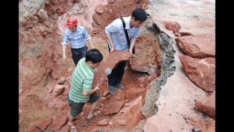 """Heyuan, which calls itself the """"Home of Dinosaurs,"""" won a <a href=""""http://www.guinnessworldrecords.com/world-records/largest-collection-of-dinosaur-eggs"""" target=""""_blank"""" target=""""_blank"""">Guinness World Record</a> for the world's largest collection of dinosaur eggs at its museum in 2004."""