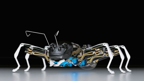 With greater flexibility and individuality demanded of automation in the future, the ants show how a networked group can communicate with each other while at the same time take orders at a higher control level.