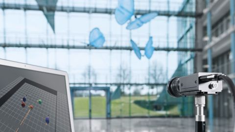 """""""Although we don't expect our butterflies to be flying through factories any time soon, their integrated network systems may well be used as solutions for industrial logistics applications or could lead to a guidance and monitoring system in future factories,"""" a Festo spokesman said."""