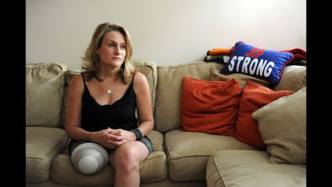 """<strong>Roseann Sdoia </strong>had run a 5K the day before the marathon. She heard the first bomb and decided to run for it. Then she saw two explosions of white light at her feet. She knew she'd lost a leg before she hit the ground. She saw a severed foot with a sock and remembers asking herself if she wore socks that day. """"It was somebody else's foot."""" She thought she'd rather die than live as an amputee but then considered all the people she'd be leaving behind. So she willed herself to stay conscious and fight."""
