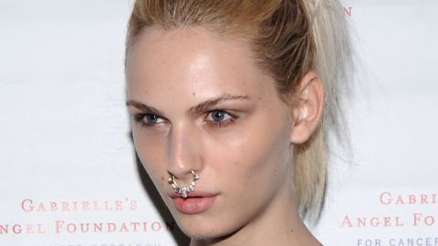 """Former male model Andrej Pejic <a href=""""http://www.people.com/article/andrej-pejic-sex-reassignment-surgery-exclusive"""" target=""""_blank"""" target=""""_blank"""">revealed to People magazine</a> in July 2014 that she has undergone sex reassignment surgery and is now Andreja."""