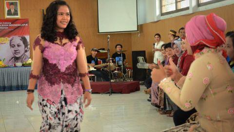 Mary Jane Veloso pictured at Yogyakarta prison on April 21, 2015.