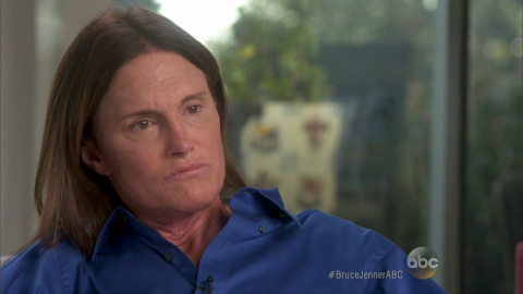 """Olympic gold medalist and reality TV star Bruce Jenner told ABC's Diane Sawyer, """"Yes, for all intents and purposes, I'm a woman,"""" during an interview that aired April 24. She has now made a highly publicized transition from male to female as Caitlyn Jenner."""