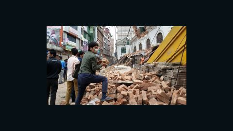 This is a glimpse of what life is like for us right now. It's like a war zone, but people are calm in the streets and parks away from buildings. We are safe, but some are not as fortunate. Please send your thoughts and prayers to Nepal.