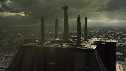 The Jedi Temple was located on the planet Coruscant and served as the training facility for the Jedi Order. It was later destroyed and rebuilt in cycles indicating the changing politics of the universe.