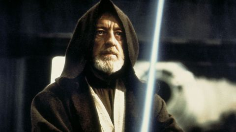 """Obi-Wan Kenobi, played by Alec Guinness in """"Star Wars,"""" was the noble warrior who helped guide young Luke Skywalker."""