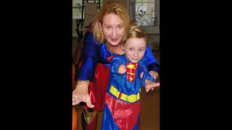 """<a href=""""http://ireport.cnn.com/docs/DOC-979437"""">Cynthia Falardeau</a> has encouraged her son, Wyatt, to seek out superhero role models like Superman. Falardeau says these heroes helped give her confidence while growing up."""
