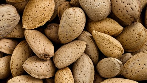 Tree nuts such as almonds, pictured, walnuts and pecans are a frequent source of allergic reactions. Even a trace amount can be dangerous to some individuals.