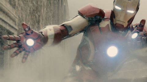 """Priebe has reproduced the glove worn by Iron Man as portrayed by Robert Downey Jr. in the Marvel studios  """"Avengers: Age of Ultron"""" movie, released earlier this year."""