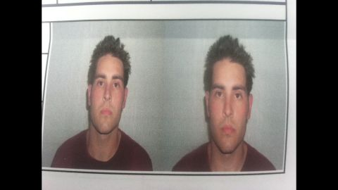 On July 22, 2007, Sideri and a fellow addict robbed a bank to fuel their highs. These are the mugshots from his arrest. He spent a year in court-ordered rehab and 22 months in jail.