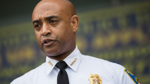 """Baltimore police commissioner Anthony Batts announces police have handed their Freddie Gray investigative files over to prosecutors noting,""""This does not mean that the investigation is over. If new evidence is found, we will follow it"""" because """"Getting to the right answer is more important than speed"""", he said."""