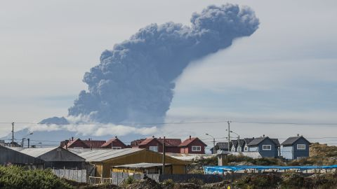 """A thick plume pours from the Calbuco Volcano near Puerto Montt, Chile, on Thursday, April 30. The volcano erupted again Thursday, marking the third time since last week. <a href=""""http://www.cnn.com/2015/04/30/world/chile-calbuco-volcano/"""">About 1,500 people were evacuated</a> this time, an Interior Ministry official said. The eruptions at the Calbuco are the first in more than four decades."""