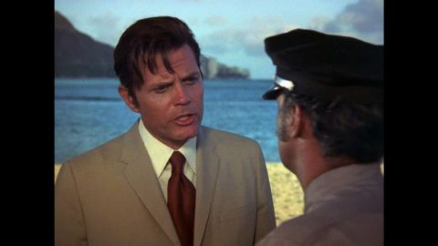 """The classic TV police show """"Hawaii Five-O"""" aired from 1968 to 1980 and starred Jack Lord as the iconic Det. Steve McGarrett and James MacArthur as Dan """"Danno"""" Williams."""