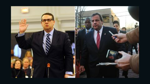 David Wildstein, left, and Gov. Chris Christie were longtime political allies.