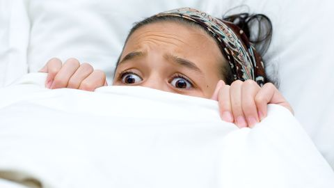 A calming ritual at bedtime can help to cope with a child's sleep terrors, a pediatrician says.