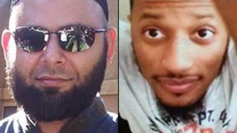 Nadir Soofi, left, and Elton Simpson were the two gunmen in the Garland, Texas, shooting.