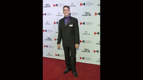 Chef Rick Bayless attends the 2015 James Beard Awards at Chicago's Lyric Opera on Monday. Bayless was named outstanding chef in 2005 and his restaurant, Topolobampo, was recognized for outstanding service in 2011.