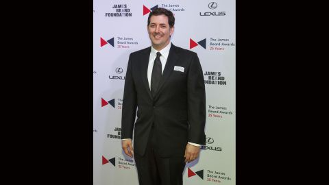 Chef Michael Anthony of New York's Gramercy Tavern was named outstanding chef of the year.