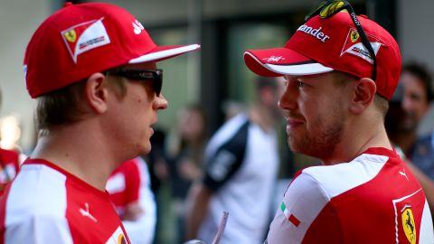 With Alonso deciding to join McLaren, Raikkonen was joined by four-time world champion Sebastian Vettel at Ferrari for the 2015 season.