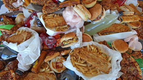 Even reacting to stress by eating junk food or skipping your workouts can actually make your stress worse.