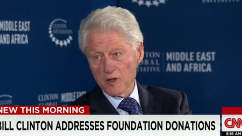 Bill Clinton addresses foundation donations SOT newday _00002512.jpg