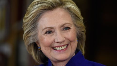 Democratic presidential candidate and former U.S. Secretary of State Hillary Clinton smiles as she speaks at Rancho High School on May 5, 2015 in Las Vegas, Nevada. Clinton said that any immigration reform would need to include a path to 'full and equal citizenship.'