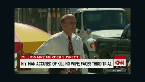 Cal Harris says he didn't kill his wife. He hired investigators to find out what happened to her.