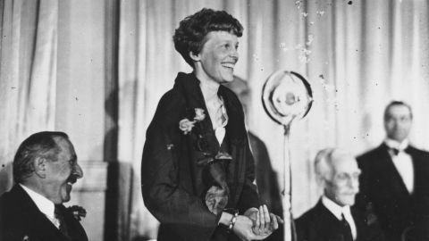 Analysing historical photographs allowed scientists to compare Earhart's skeleton with the castaway bones