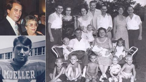 """On Mother's Day 2014, House Speaker John Boehner <a href=""""https://www.facebook.com/SpeakerJohnBoehner/videos/754036984636962/"""" target=""""_blank"""" target=""""_blank"""">posted</a> a heartfelt tribute to his mother, Mary Ann Boehner, who passed away in 1998. Boehner wrote: """"They say behind every great man is a great woman. Well, behind an Ohio barkeeper and his 12 kids, there is a saint."""""""