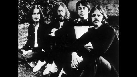 """The """"Fab Four,"""" pictured here in 1970, released their final album, """"Let It Be,"""" on May 8, 1970. The album came one month after Paul McCartney announced the group's breakup."""