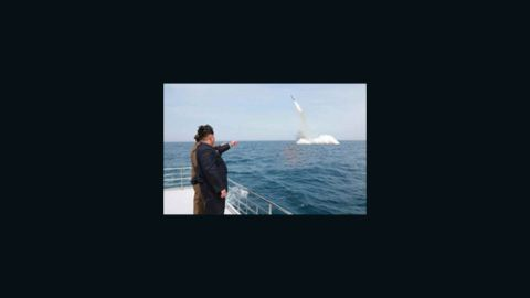 """On May 9, 2015, North Korea state media reports the country has successfully fired a <a href=""""http://www.cnn.com/2015/02/09/asia/north-korea-missiles/"""">""""cutting-edge"""" anti-ship missile</a> from a submarine."""