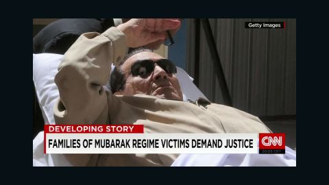 Mubarak has had heart problems and stomach cancer since leaving office, sometimes appearing in the courtroom on a stretcher.