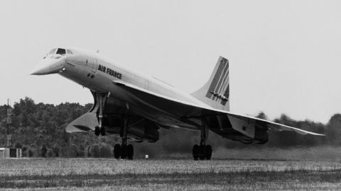 It broke the sound barrier and cut flight times in half. On January 21, 1976, the first commercial Concorde flight took place from London to Paris, cruising at speeds of 1,350 mph. The Concordes' flights would be short lived, however, as fewer than 20 ever saw commercial use. The last commercial Concorde flight took place on October 24, 2003.