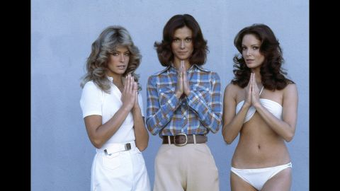 """On September 22, 1976, a blonde bombshell dropped into America's homes with the debut of the television show """"Charlie's Angels."""" Farrah Fawcett and co-stars Kate Jackson and Jaclyn Smith became an instant hit with audiences. To this day the show remains a lasting image of the 70s despite getting mixed reviews from critics."""