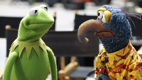 """""""The Muppets"""" are returning to prime-time TV with a twist. ABC's new series shows the trials and tribulations of the Muppets behind the scenes (Fozzie Bear's dating life, for example). The comedy from """"Big Bang Theory"""" co-creator Bill Prady will air at 8 p.m. ET Tuesdays."""