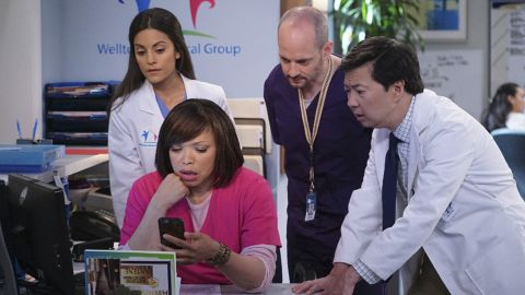 """After """"The Hangover"""" and """"Community,"""" Ken Jeong, right, is now starring in his own series, ABC's """"Dr. Ken."""" it's something he knows a little something about, having a medical degree himself."""