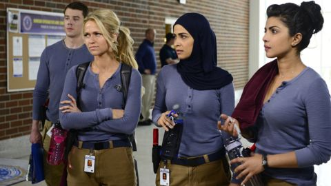 """New FBI recruits come to """"Quantico,"""" but one of them may be behind a terrorist attack in ABC's new drama."""