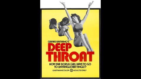 """In any other year it might sound strange, but in 1972 one of the most popular films of the year was a porno. """"Deep Throat"""" was one of the first pornographic films to receive mainstream attention, and it made $3 million in its first six months of release. It also took on an additional layer of cultural significance when the secret informant in the Watergate scandal went by the pseudonym """"Deep Throat."""""""