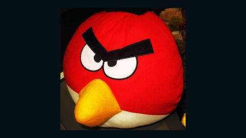 """This imitation Angry Birds pillow shows how some people """"just change the way they use their skill for producing handicrafts, to producing counterfeit products,"""" says intellectual property lawyer Suebsiri Taweepon."""