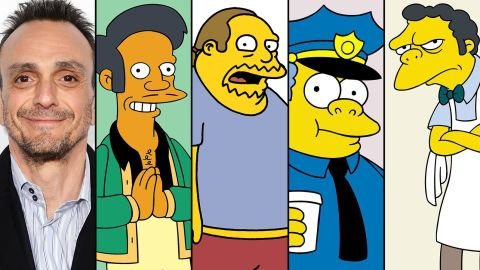 """Where would """"The Simpsons"""" be without Hank Azaria? The versatile voice actor does Apu, Comic Book Guy, Chief Wiggum and Moe -- as well as Dr. Nick, Snake Jailbird and the always entertaining Bumblebee Man."""