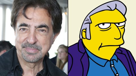 """Joe Montegna drops by """"The Simpsons"""" to do the voice of occasional character Fat Tony."""
