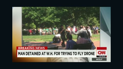 wolf man detained at white house for trying to fly object_00015724.jpg