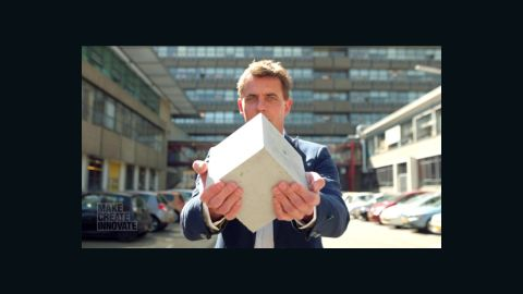 Dutch inventor Hendrik Marius Jonkers has won plaudits for his work on self-healing concrete.