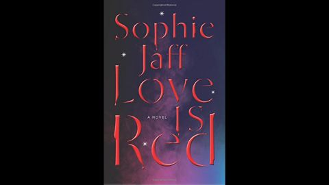 """<strong>""""Love Is Red."""" </strong><a href=""""http://www.sophiejaff.com/"""" target=""""_blank"""" target=""""_blank"""">Sophie Jaff's</a> thriller is her first in her Nightsong Trilogy. A serial killer is on the loose this summer in New York, and Katherine Emerson doesn't know she was destined to be placed in the killer's path. Emerson is also dating two men at the same time. Talk about complications.<br />"""