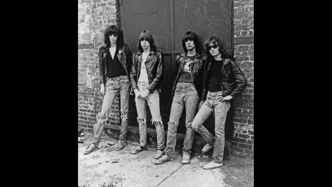 The '70s ushered in a new musical movement that put a premium on speed, simplicity and raw power. Bands like the Ramones, pictured, and the Sex Pistols put to waste the trippy, hippie music of the '60s, replacing it with short, fast songs filled with attitude and angst. It could only be called one thing: punk.