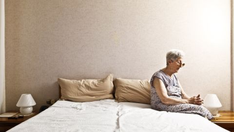 There are not enough nursing homes and facilities to care for the growing number of seniors who are on their own.