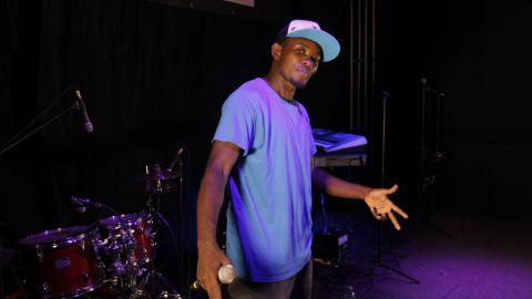Abramz is arguably Uganda's biggest hip-hop star. He's performed and spoken all over the world but he's never forgotten his roots and has been the inspiration for many to follow his lead.