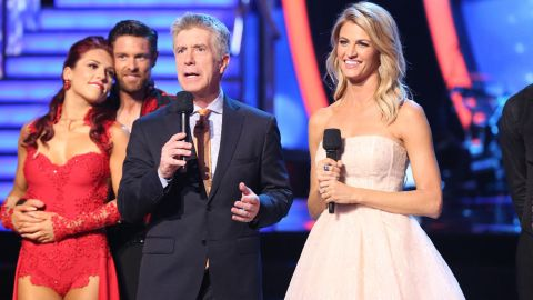 """""""Dancing With The Stars, """"The Amazing Race,""""<br />""""American Ninja Warrior, """"Project Runway,"""" """"Top Chef"""" and the """"The Voice"""" were nominated for outstanding reality-competition program."""