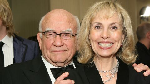 """Actor Ed Asner <a href=""""http://www.people.com/article/ed-asner-files-divorce-8-years-after-separating-wife"""" target=""""_blank"""" target=""""_blank"""">has reportedly filed for divorce</a> from wife Cindy Gilmore eight years after the couple first split. The pair married in 1998 and separated almost a decade later."""